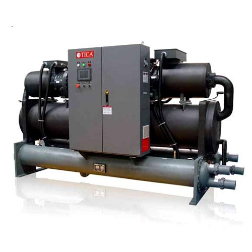 TICA水冷螺杆冷水机组产品