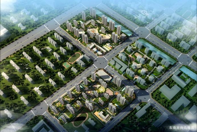 郑东新区金光花苑棚户区改造项目(绿色二星)
