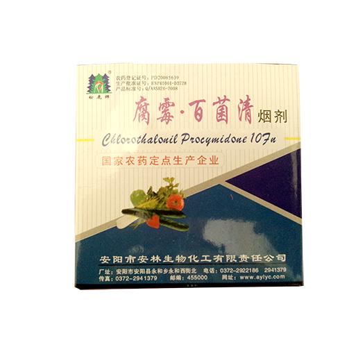 百分之十腐霉百菌清烟剂