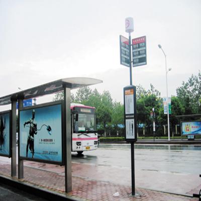 河北公交候车亭制作