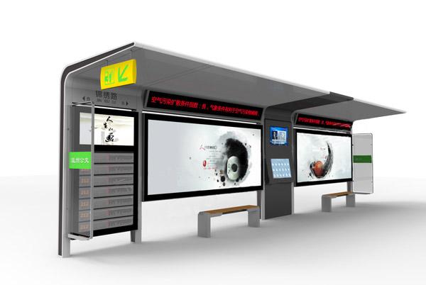 候车亭生产厂家建设独特的公交候车厅 石家庄候车厅要加强容貌管理