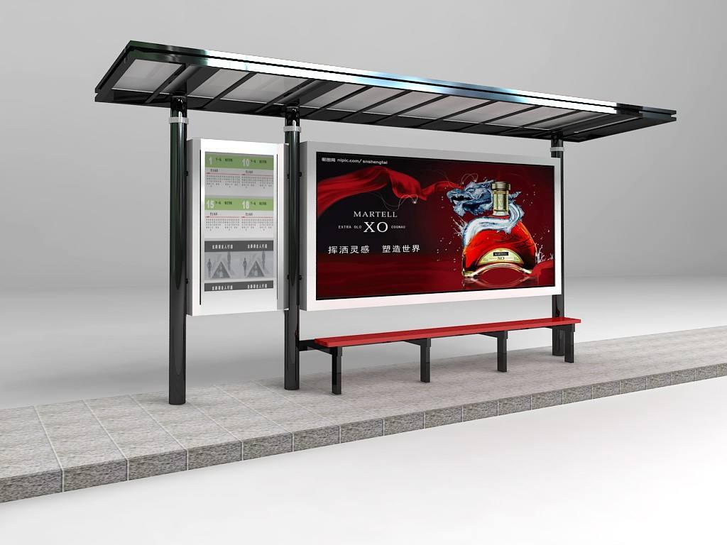【森亮】专业制作新款候车亭-仿古候车亭/不锈钢候车亭