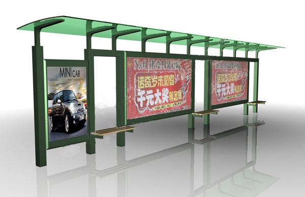 公交候车亭报价/仿古式候车亭/型材式候车亭设计、制作
