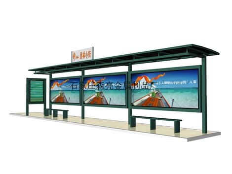 公交候车亭_常规尺寸价格_公交车站台灯箱生产厂家