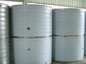 不锈钢立式保温水罐
