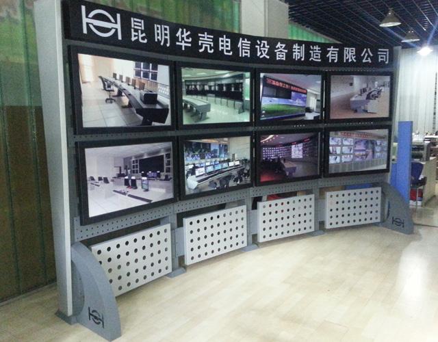 普洱框架式平面电视墙