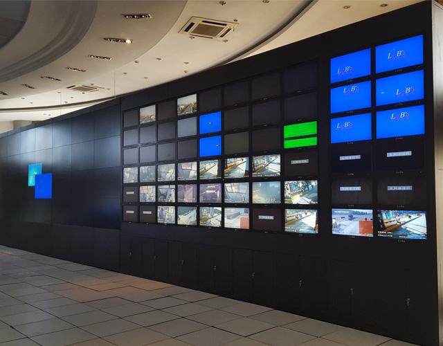 辽宁无边框拼接电视墙