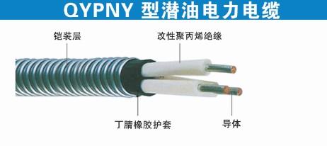 QYPNY型潛油電力電纜