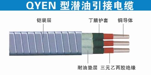 QYEN型潜油引接电缆