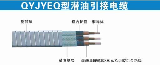 QYJYEQ型潜油电力电缆