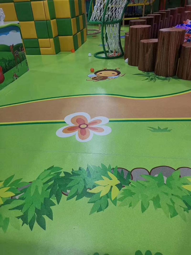 西安兒童遊樂場地板