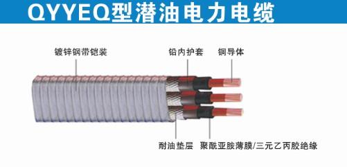 潜油泵电缆QYYEQ