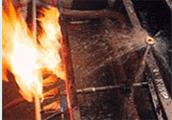 矿物质防火电缆喷淋实验