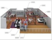 中央空调安装示意图