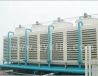 中央空调也有冷却塔作用
