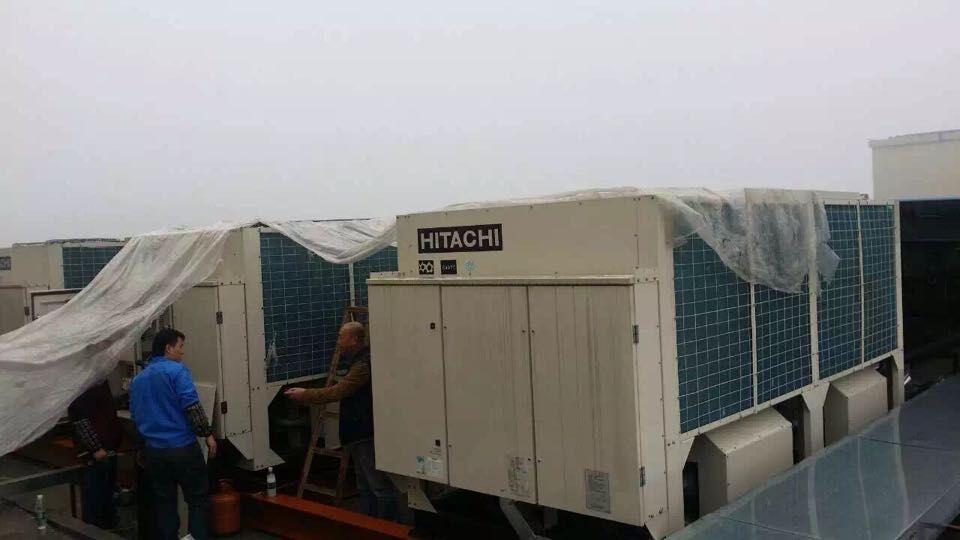 日立中央调安装工程