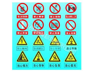 建筑工地安全标志牌