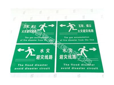 水灾避灾路线