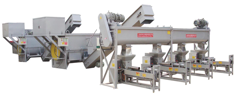BZD-抱筒4机自动装袋搅拌生产线