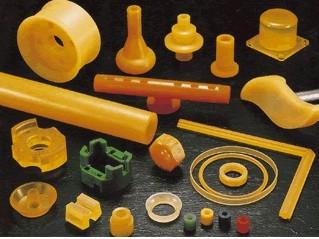 聚氨酯橡�z棒、管、板及��形件
