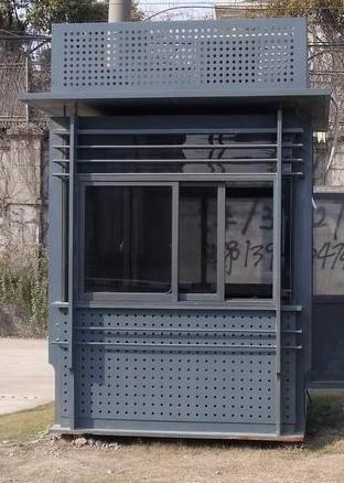 陕西氟碳喷漆岗亭简介
