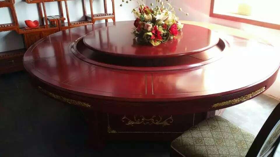 中式酒店桌椅