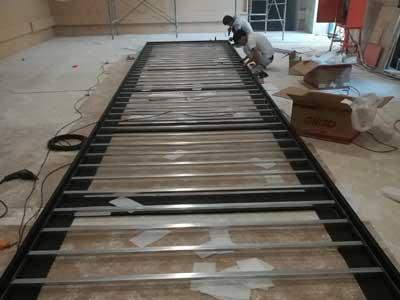 LED大屏施工