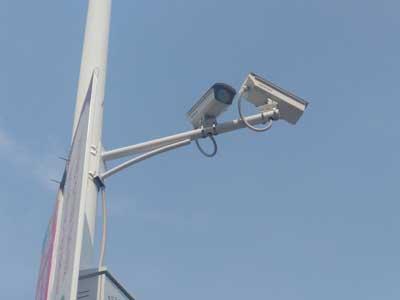 户外监控安装
