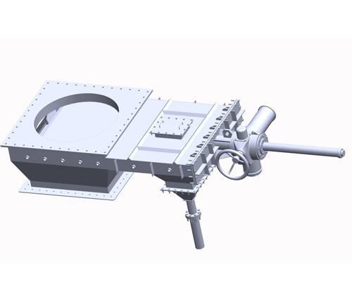 供应电动平板闸门