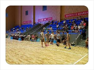 兴义龙里县双拥杯篮球赛