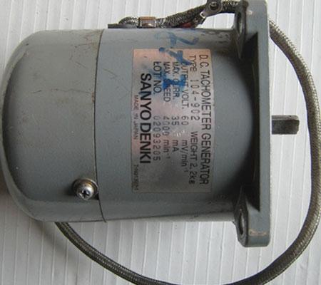 进口测速发电机维修
