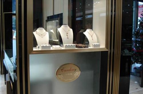 珠宝展柜效果图