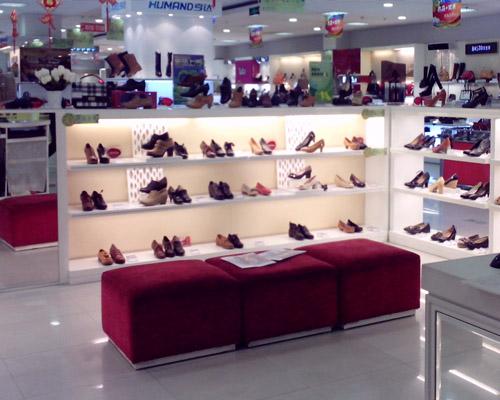 贵州鞋展柜
