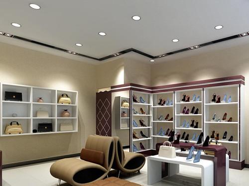 贵州鞋展柜设计