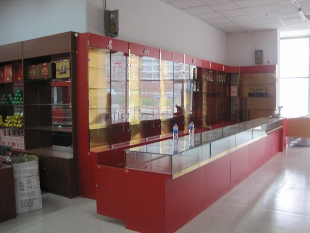 贵州饰品展柜制作