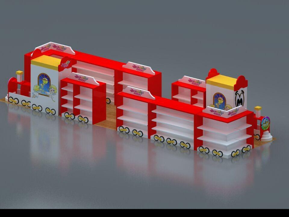 贵州贵阳卡通展柜设计