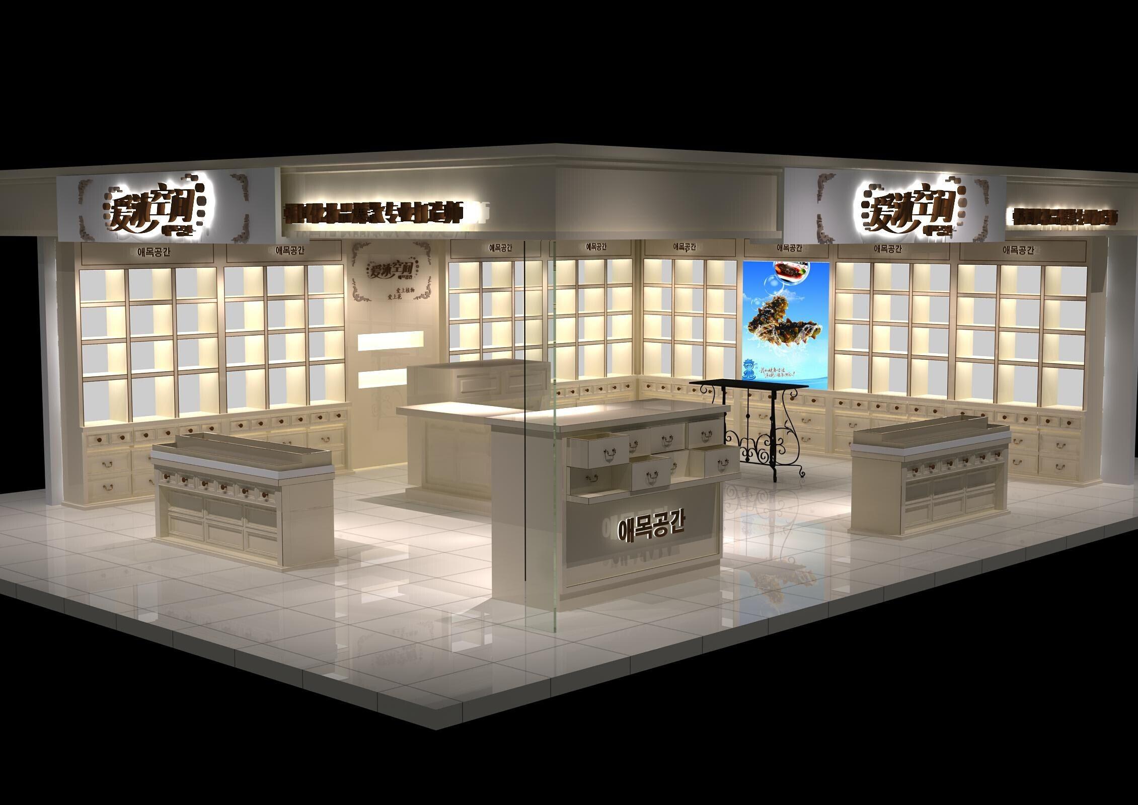 贵州贵州化妆品展柜厂