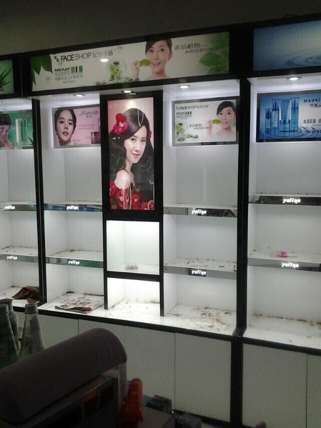 贵州贵阳化妆品展柜厂