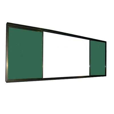 推拉式复合黑板