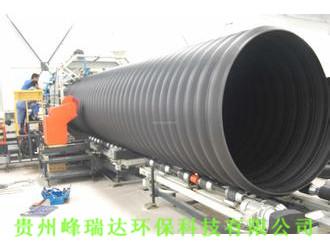 貴陽HDPE鋼帶增強波紋管