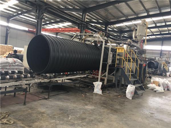 貴州HDPE鋼帶增強波紋管