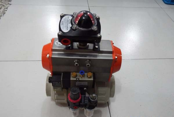 PPH气动阀生产