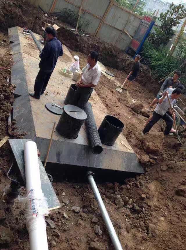 西安污水处理池