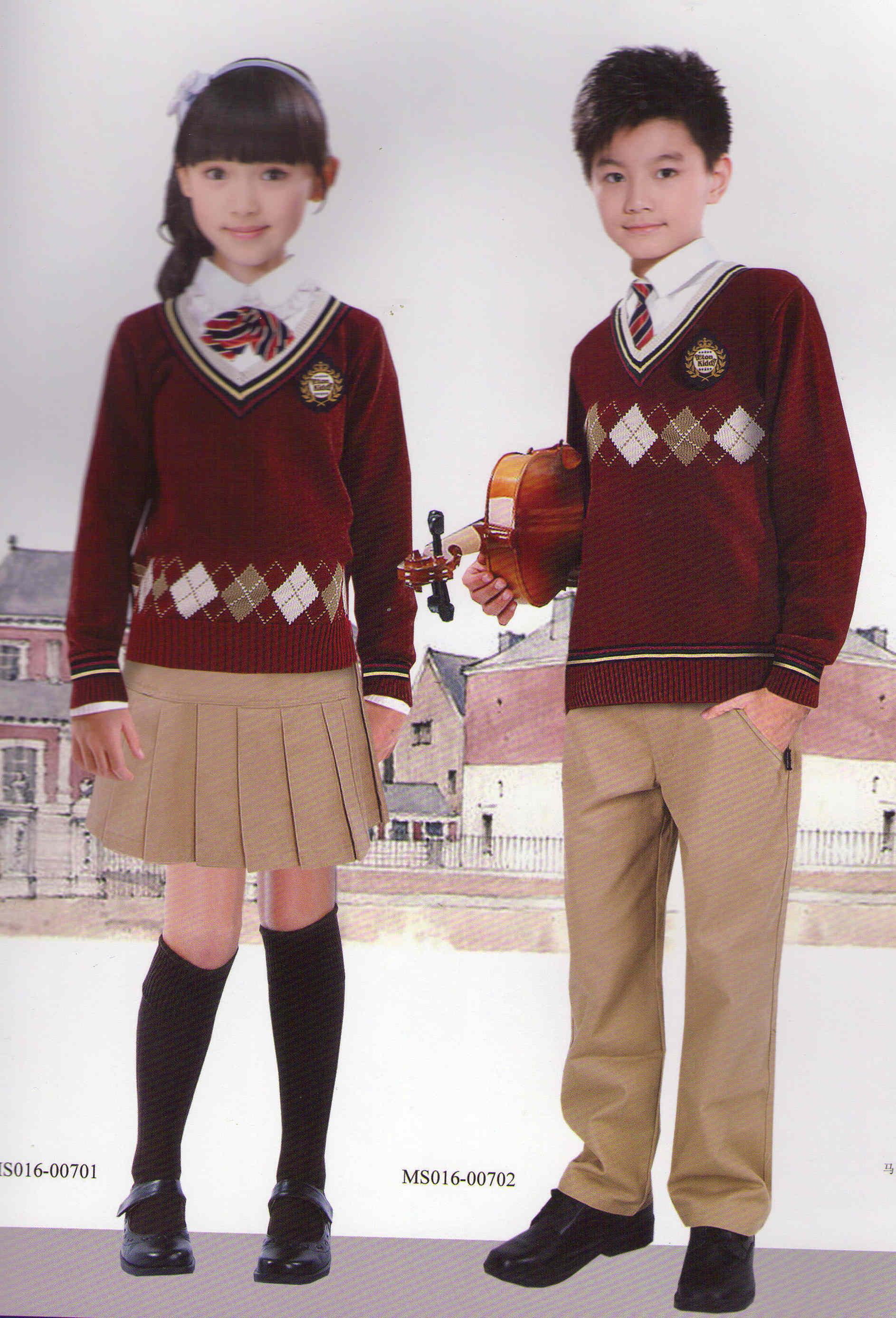 小学生校服正装