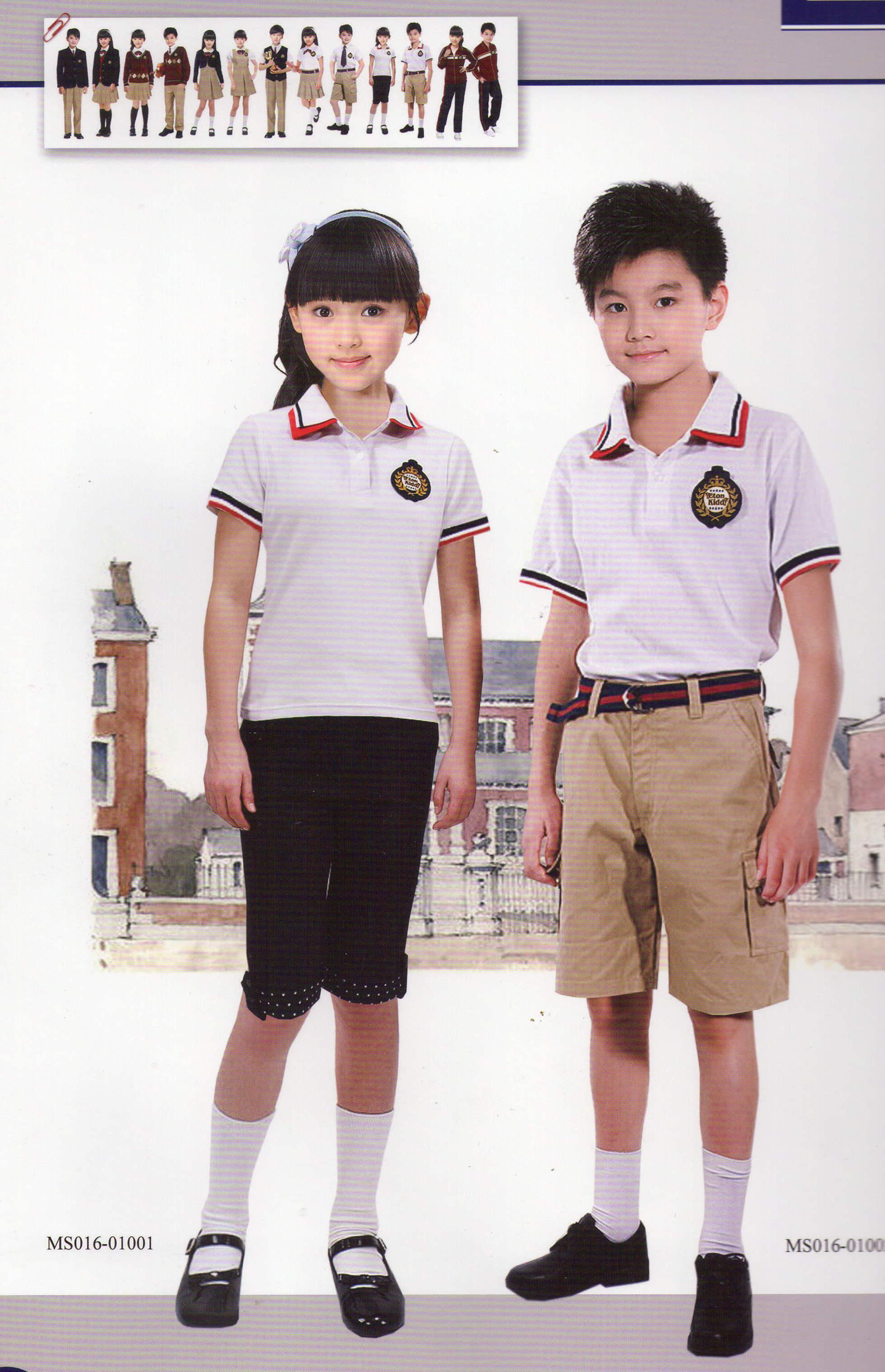 小学生制服夏装