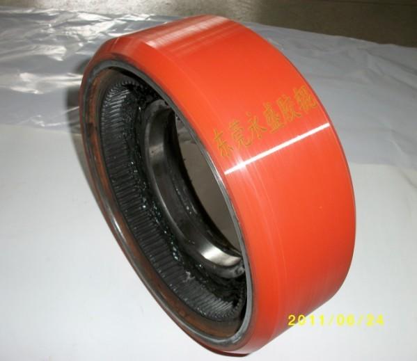 电动叉车轮