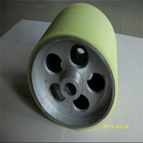 PU胶轮包胶