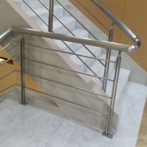石家庄不锈钢楼梯扶手定做