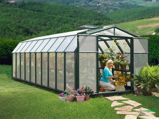庭院温室大棚