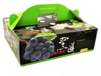 水果盒印刷
